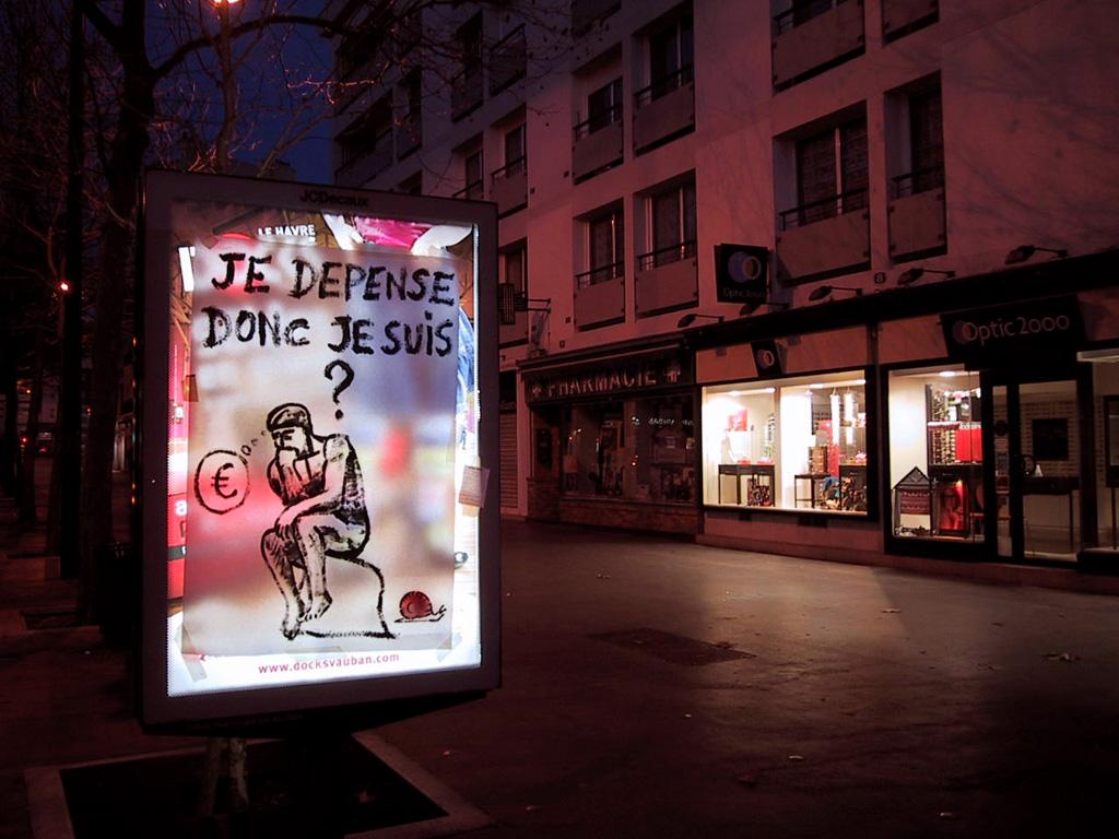 Populaire Action anti-pub dans le cadre du « Collectif Dette » » Le  LR59